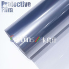 Clear glossy Rhino skin car paint protective film , vinyl wrap adhesive film for car body cover 1.52*15/30m