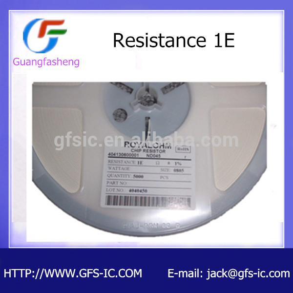 resistor 0805 1R 1%