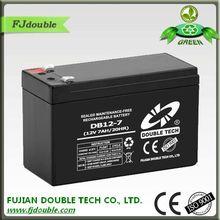 lead acid maintenance free high quality 12v 7ah 20hr battery