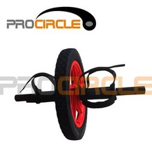 Fitness Exercise Equipment Double Use Ab Wheel Roller