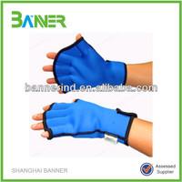 Top grade trendy cut resistant half finger gloves
