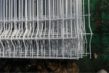 welded mesh fence with folds/Cheap mesh security fence panels