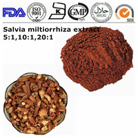 High quality red sage root / Chinese sage /danshen root Extract 5:1 10:1 20:1