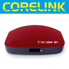 Dual core TCC8925 android smart tv box receiving DVB-T2 signals