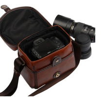 Retro fashionable Shoulder dslr camera case
