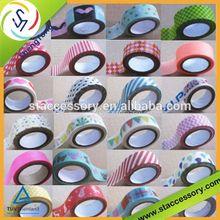 Hundreds of fashion patterns china japanese washi tape wholesale Decorative DIY rice paper tape masking tape for painters