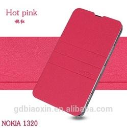 China wholesale for NOKIA Lumia 1320 leather cellphone case, leather flip case cover for NOKIA Lumia 1320