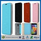 Multifunction and Fashion Design flip view cover for samsung s5