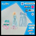 Beautiful toys for girl fashion bride children girl dress