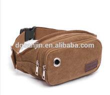 High quality canvas waist bag waist pack chest pack purse