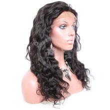 deep wave brazilian human hair lace front wig virgin brazilian deep wave human hair lace front wig