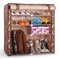 sw muebles para el hogar de almacenamiento dormitorio de metal ajustable organizador de zapatos de almacenamiento del gabinete zapatero diseños de madera