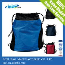 Online shopping 2014 new silk print mesh football drawstring bag