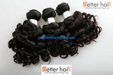 Hair factory wholesale no chemical processing natural color funmi virgin indian hair