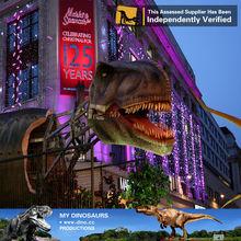 My Dino-Dinosaur theme park sculpture 3D dinosaur fiberglass sculpture