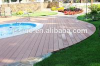 PVC, PE Wood/Bamboo Plastic Composite Flooring, Waterproof, Pool Deck, WPC Outdoor Floor Covering