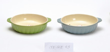 Ceramic oven dish/glazed bakeware/bowl