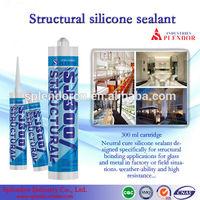 structural silicone sealant/ SPLENDOR high quality cheap silicone sealants/ silicone pouring sealant