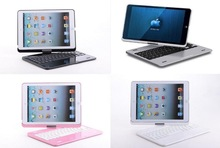 360 Swivel Rotating Keyboard Folio Case Stand Case Cover+Bluetooth Keyboard For Apple iPad 5 Air 5