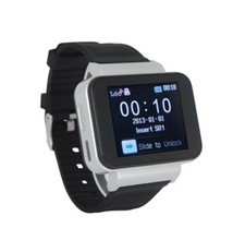 1.8 inch 128*128 touch screen function Smart watch phone TF card slot max 4G, FM/3G,,,price of smart watch phone