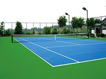 Silicon PU Sports Surface For Sports Court Sports Flooring