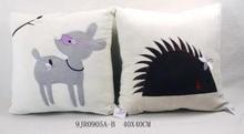 En71 Velvet Embroidery Baby Decorative Cushions Throws Pillows