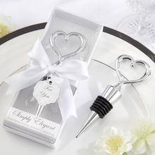 Elegant Heart Bottle Stopper Wedding Giveaway Gift WG006