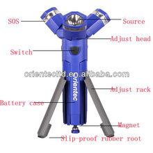 Stanley style 3 in 1 tripod led flashlight