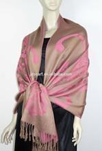Girls evening warm winter viscose striped scarf stoles TSV-017