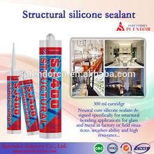 structural silicone sealant/ SPLENDOR high quality cheap silicone sealants/ food grade silicone sealant