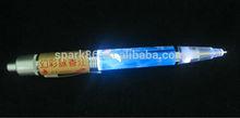 top flashing led ballpoint RGB led pen student flash pen