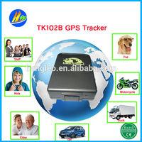 Professional manufacturer pet and personal vehicle fleet management TK102B gps vehicle / car / truck tracker
