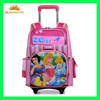 high quality children school bag trolley for girls
