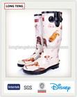 dog print 3d printing rubber rain boots waterproof