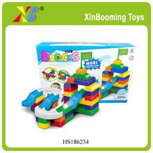 70pcs baby intelligence building blocks rolling ball block toys