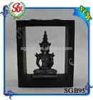 SGB95 Sliver Hand Carved Sculpture Buddha Frames