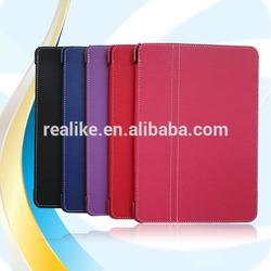 2014 New Stylish unique style pu for ipad mini case