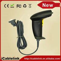 Automatic Scan/Manual Handheld Optical Mark Reader Scanner(USB Wired, Optical Laser, Long Range) Laser BarCode Scanner