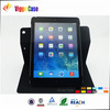 2014 hot selling for ipad air case, 360 degree for ipad leather case