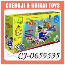 12 in 1 bildungs-diy baustein solar-spielzeug für kinder
