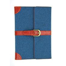 2014 new fashion jean case for ipad mini , for ipad mini notebook leather case