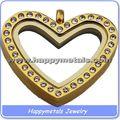 África popular em forma de coração encantos medalhão atacado medalhão pingentes em forma de coração