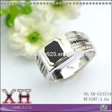 Wholesale Fashion Black Wedding Rings Fashion Man Ring