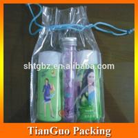 China cheap clear plastic pvc gift cosmetic bag