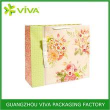 Environmental Fashionable shopping art paper bag
