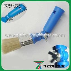Adjustable plastic handle paint brush,paint brush plastic ferrule,plastic paint brush covers