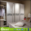 Customer tailored welcome kav modern wooden 2 sliding door wardrobe with inside mirror