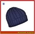 Hx153/azul marinho chapéu feito malha/personalizado navy sailor chapéu feito malha