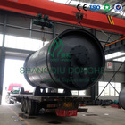 continuous used tyre processing pyrolysis plant