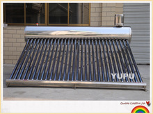 Evacuated Tube Type and Direct / Open Loop (Active) Circulation Type solar hot water heater